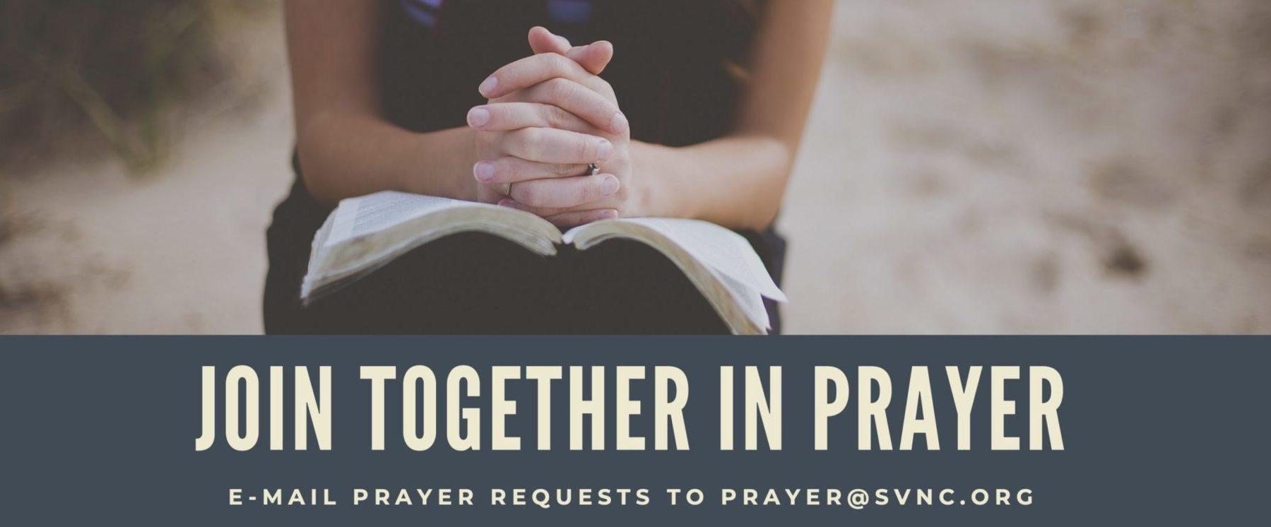 Join together in Prayer - website