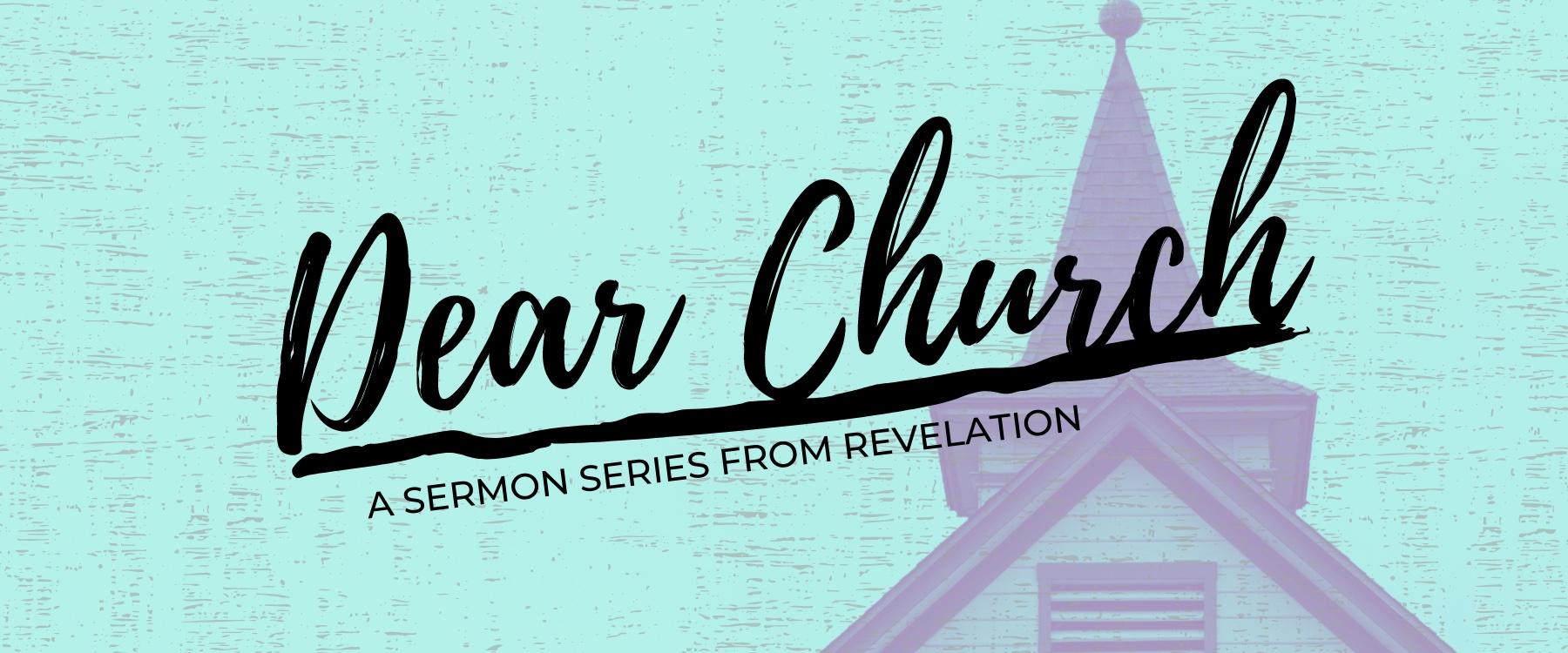 Dear Church Web Banner
